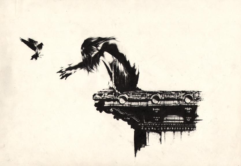 lartreia - 11x17 ink on paper